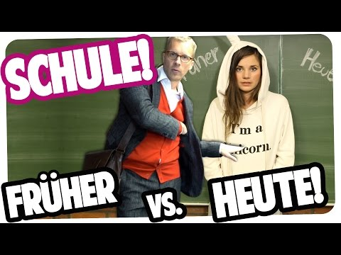 SCHULE   FRÜHER vs. HEUTE   Joyce feat. Oliver Pocher
