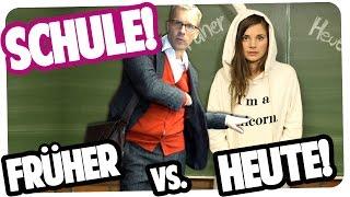 SCHULE | FRÜHER vs. HEUTE | Joyce feat. Oliver Pocher
