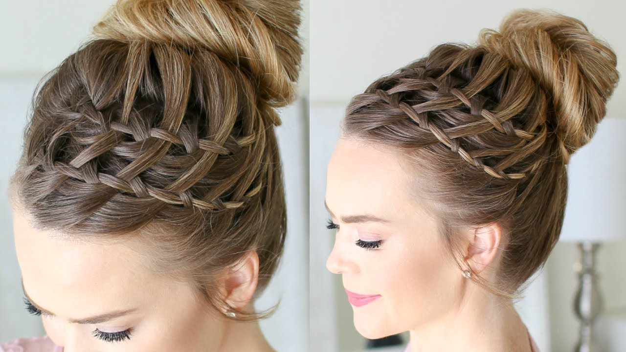 10 easy waterfall braids you can do at home - the trend spotter