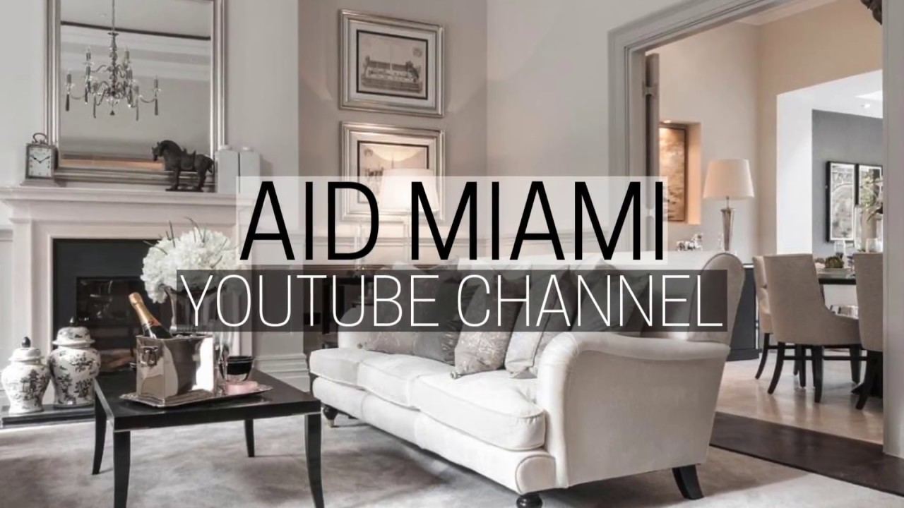 Official YouTube Channel Video Trailer: Sara Tayte From AID   Interior  Designer Miami