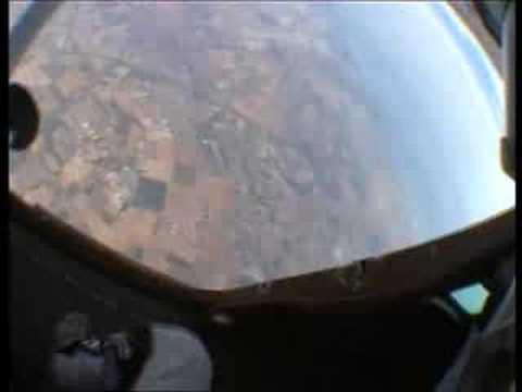 PARACADUTISMO ESTREMO Lancio Con Paracadute Da 4500m Pull Out  PAURA!!!!!!!!!!!!!!