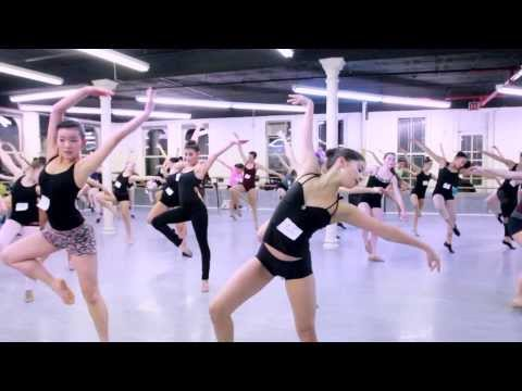 Joffrey Ballet School Summer Intensive Audition Tour - NYC Auditions 2014