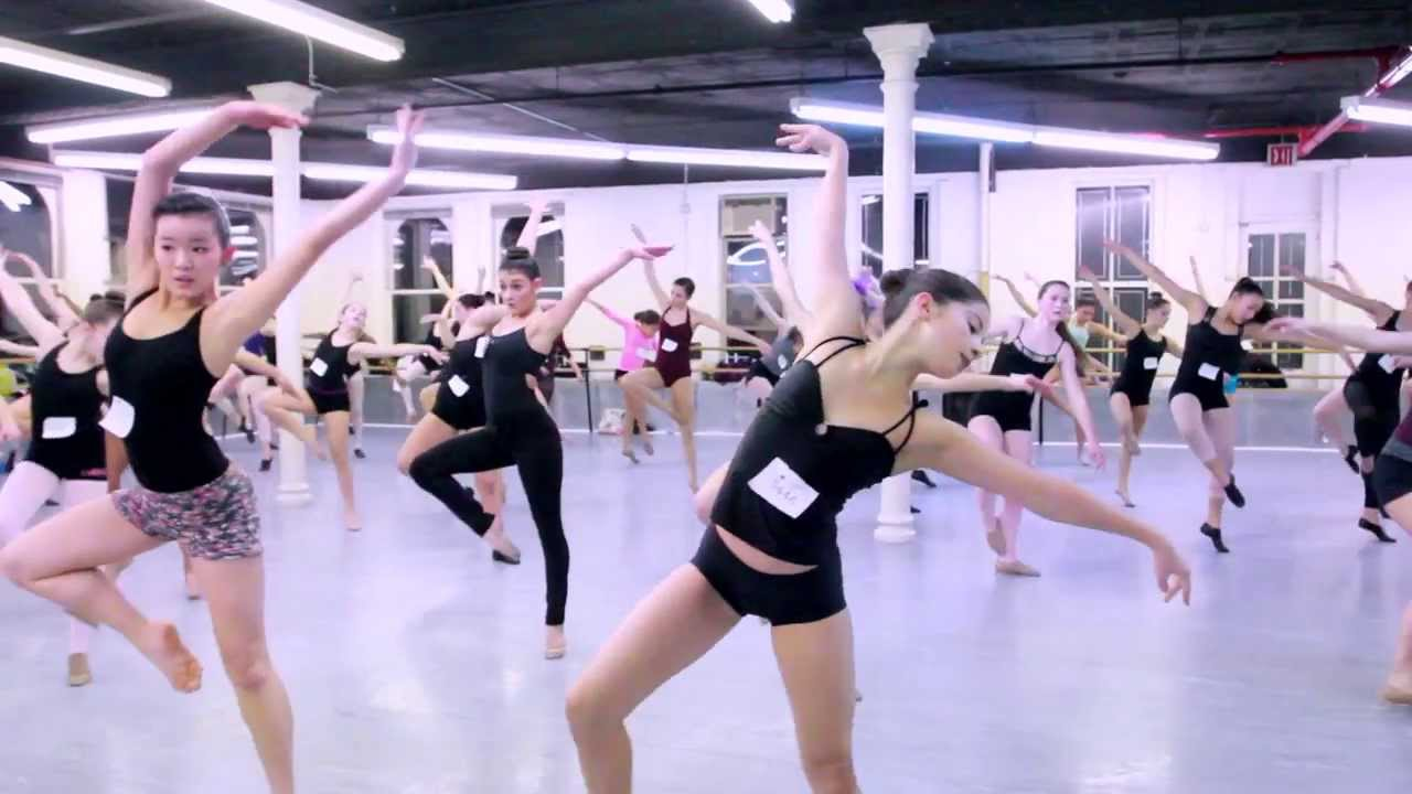Joffrey Ballet School Summer Intensive Audition Tour - NYC Auditions