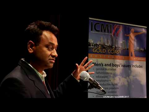 "10 June 2017: ICMI17, Dr Tanveer Ahmed - ""Male Suicide and Gender Prejudice"""