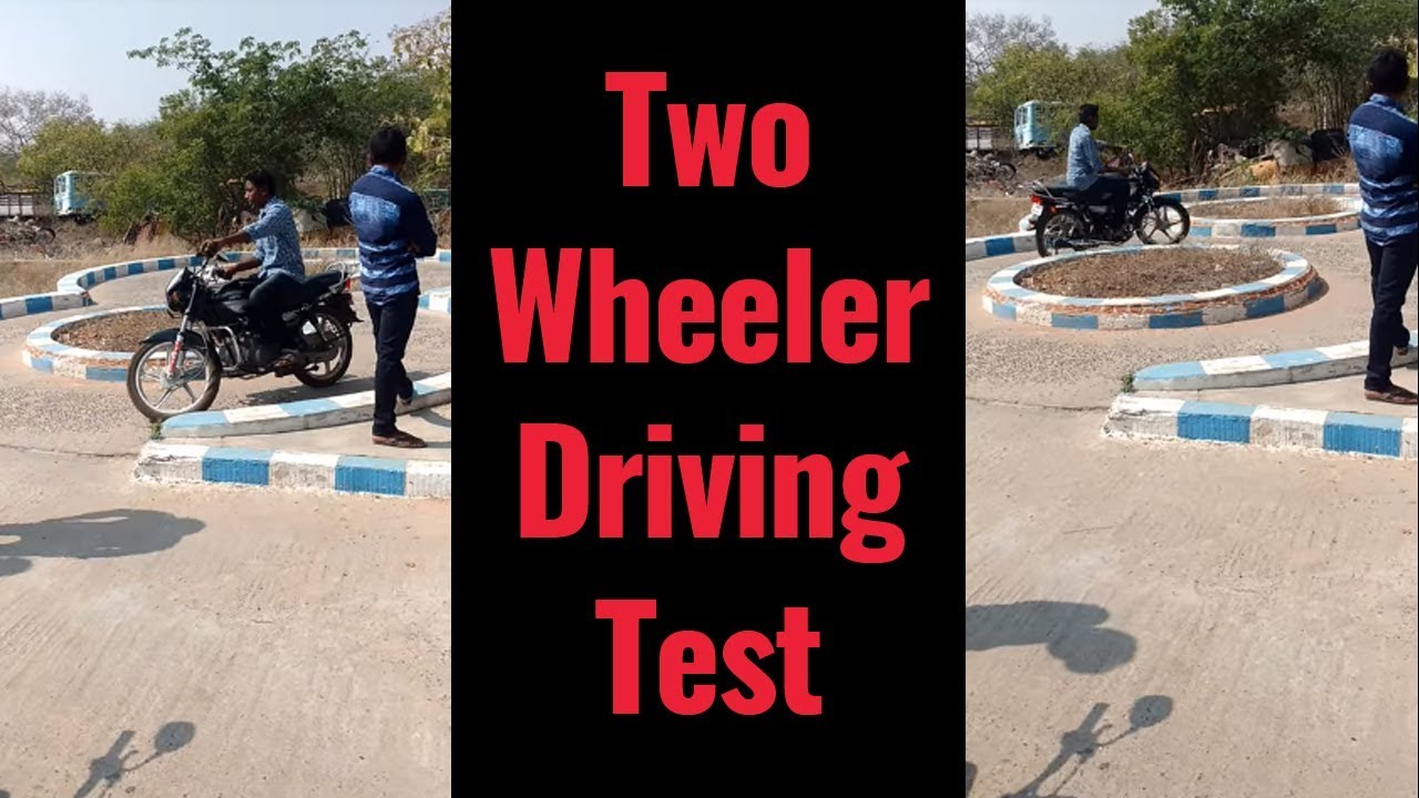 Two Wheeler License Test In RTO Office In India | How to put 8 in two  wheeler - Country Fun Studio