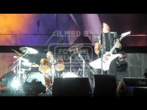 Metallica The struggle within (LIVE DEBUT) LIVE Prague, Czech Republic 2012-05-07 1080p FULL HD
