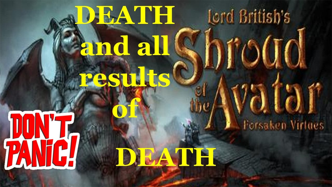 the meaning of death in shroud of the avatar