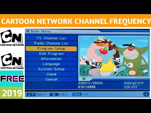 Cartoon Network Dd Free Dish 2019 New Frequency Oggy And The Cockroaches Youtube