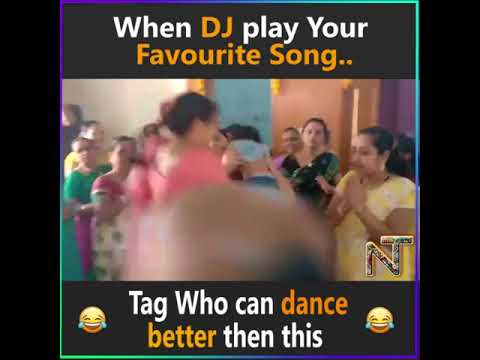 When Dj play your favourite song