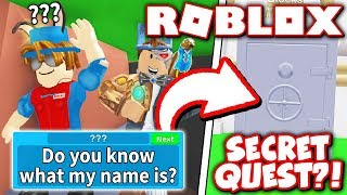 HOW TO GET TO THE SECRET NPC & COMPLETE HIS QUEST in MINING SIMULATOR Update!! *GLITCH?!* (Roblox)