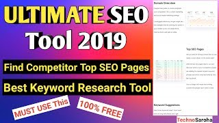Best SEO Keyword Research Tool free in Hindi | Find Low Competition High CPC Keywords | 2019
