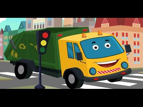 Garbage Truck Car Wash Games