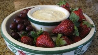 Fruit Dip - Lynn's Recipes