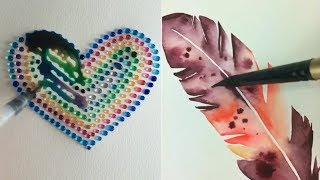 Антистресс - Рисование акварелью уроки и идеи для рисования