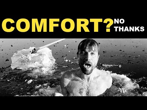 Why You Must Get Comfortable With Discomfort | Stoicism | Philip Ghezelbash