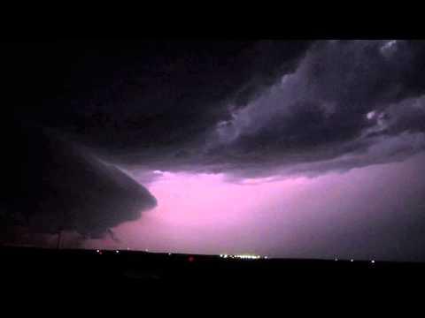 Lightning Storm Near Canadian, TX