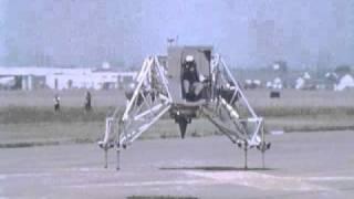 Neil Armstrong - Lunar Landing Research Vehicle (LLRV) Test Flight - (1969)