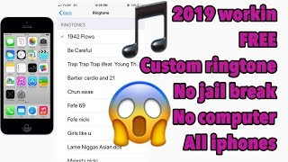 Free ringtone app for iphone 2019 -