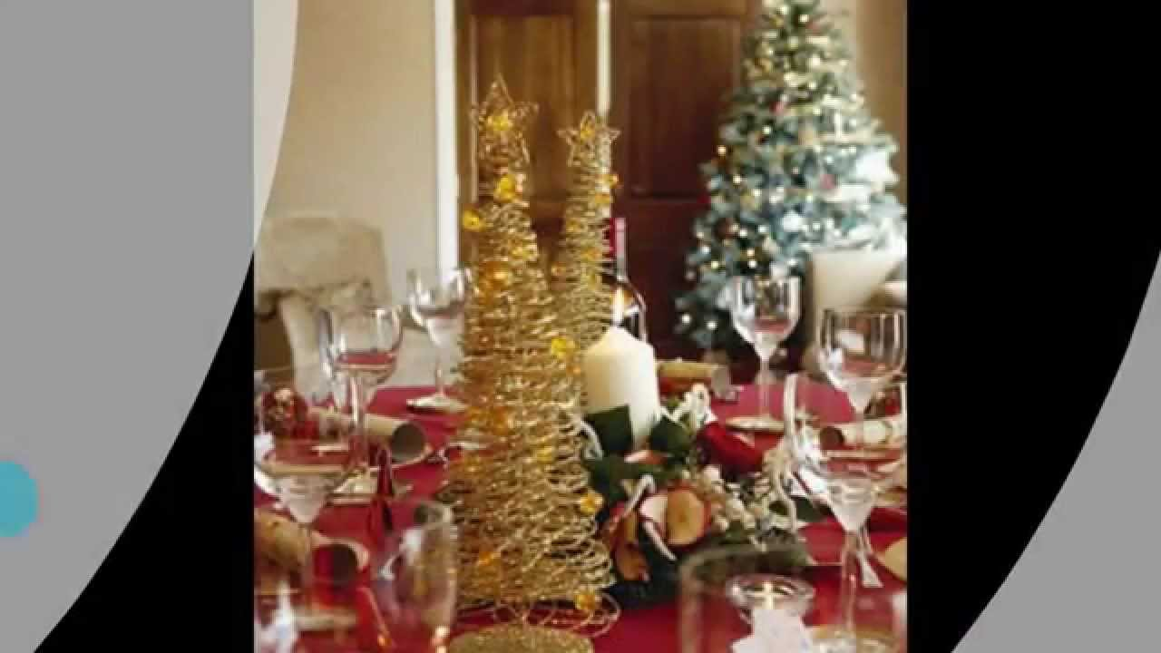 christmas dinner table decorations - Christmas Dinner Decorations