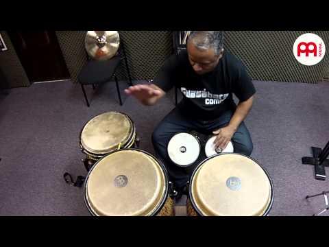 Raul Rodriguez Percussion Solo Bongos, Conga And Bata MEINL