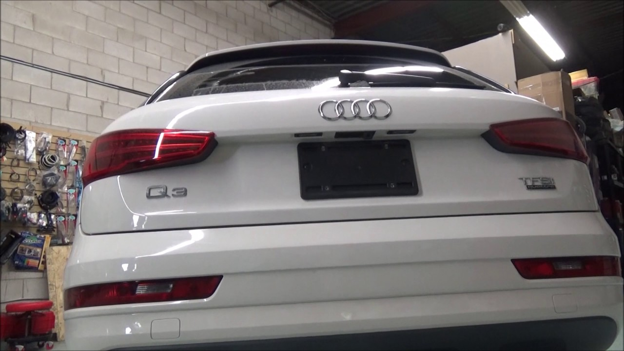 2017 Audi Q3 Backup Camera | Q3 Reverse camera to OEM screen