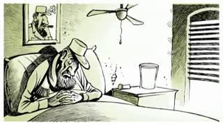 FIDEL CASTRO Animated Editorial Cartoon