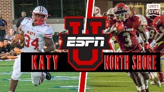 Katy (TX) vs. North Shore (TX) Football - ESPN Broadcast Highlights