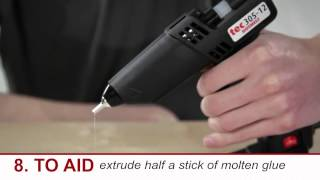 How To Use A Hot Glue Gun - Safety Tips