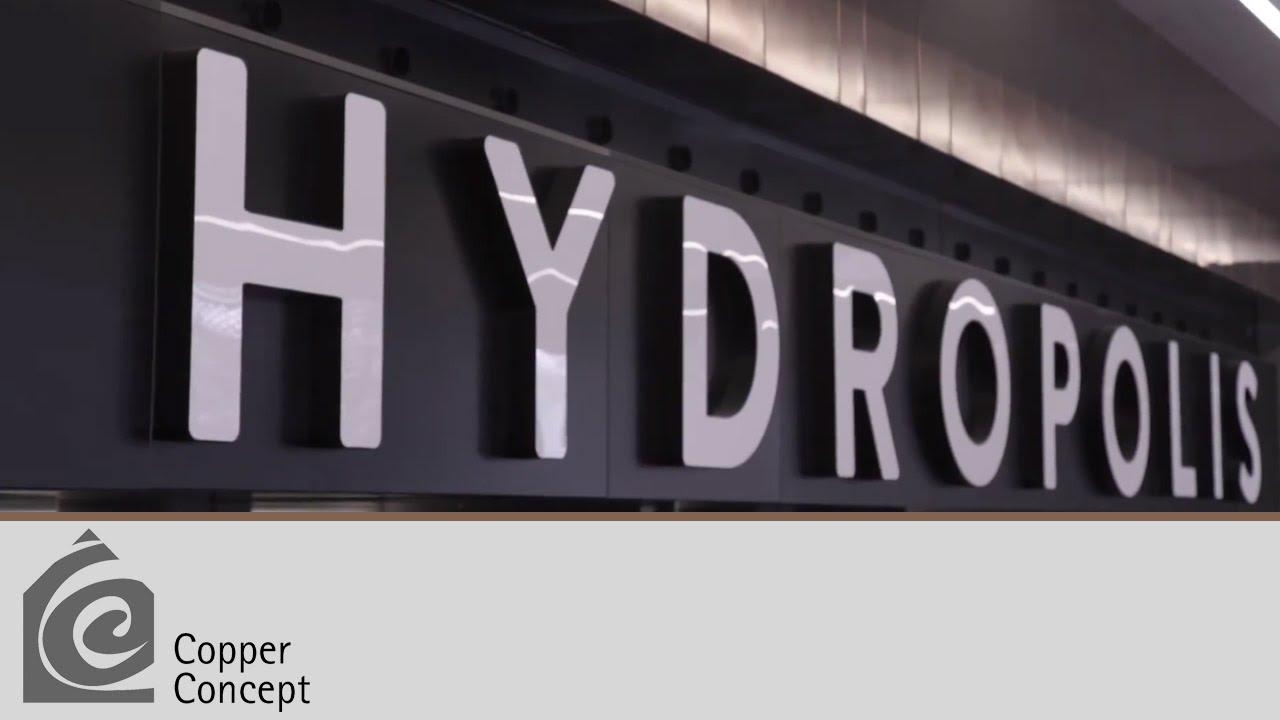 Hydropolis - Miedź w Architekturze