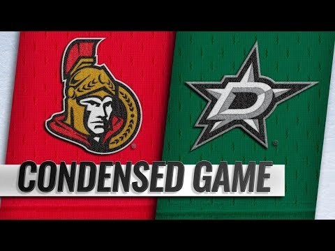 Ottawa Senators vs Dallas Stars | Nov.23, 2018 | Game Highlights | NHL 2018/19 | Обзор матча