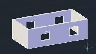 3D модели из 2D чертежа