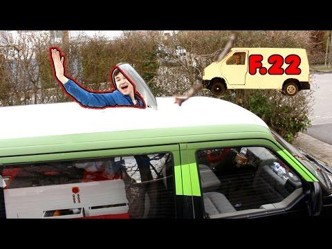 Dachfenster einbauen DANK EUCH   F.22 Von der Schrottkarre zum Camper