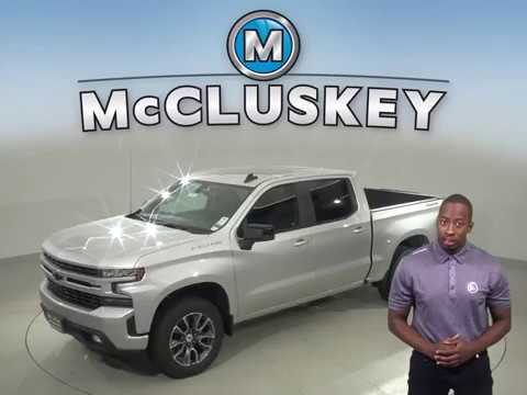 191783 2019 Chevrolet Silverado 1500 RST 4WD Silver Crew Cab Test Drive, Review, For Sale -