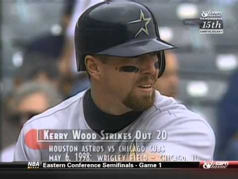Kerry Wood 20 Strikeout Game (WGN Cubs Broadcast)