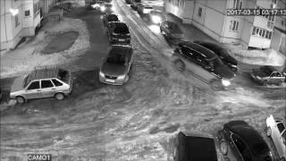 В Кирове неизвестные обстреляли окна жилого дома