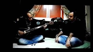 عازف البزق فابيو  وعازف البزق الضم احمد الحسن