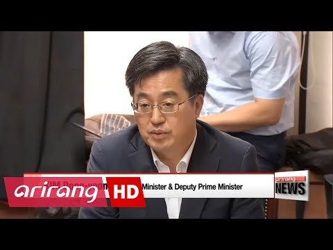 Finance Minister says economic policies should support Korean trade in global environment