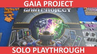 Gaia Project - Solo Playthrough
