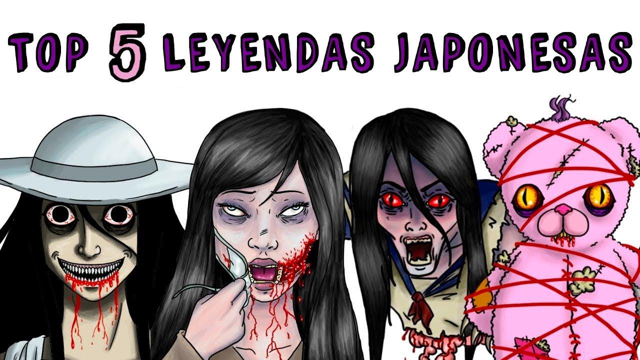 Top 5 Leyendas Japonesas Draw My Life Kuchisake Onna Teke Teke