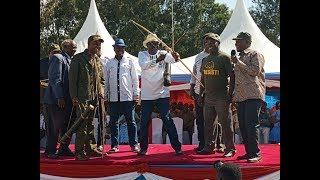 Norman Magaya warns Jubilee against disrupting Raila and Kalonzo swearing-in