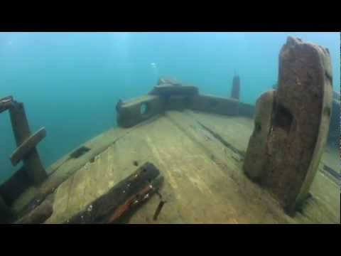 Bermuda Shipwreck, Lake Superior, near Munising, MI