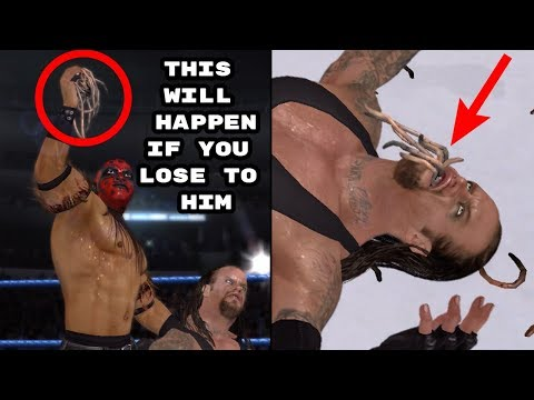 15 Things That Made Losing A Match Way Worse In WWE Games