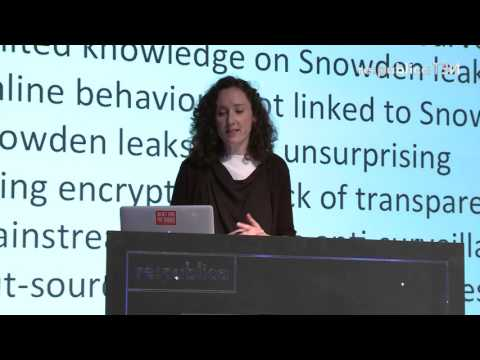 re:publica 2016 – Lina Dencik, Arne Hintz: Digital Citizenship in an Age of Mass Surveillance on YouTube