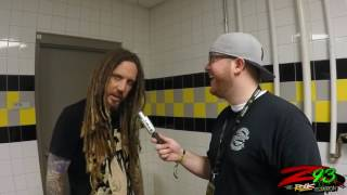 Interview with Korn's Brian 'Head' Welch at Rock on the Range