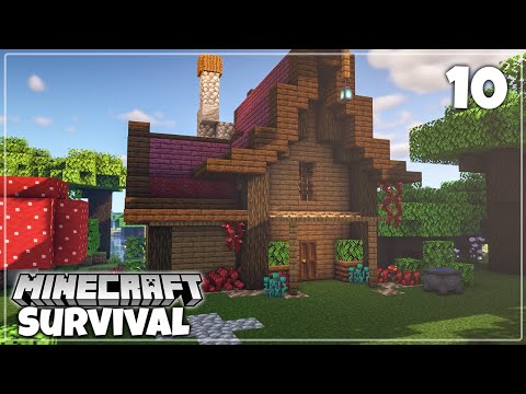 Potion Brewing House Minecraft 1 16 Survival Let S Play Youtube