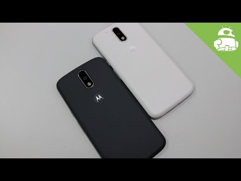Moto G4 and G4 Plus Hands On