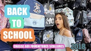 CHASSE AUX FOURNITURES SCOLAIRES - BACK TO SCHOOL #1