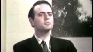 Carl Sagan 1966 Interviewed about UFO