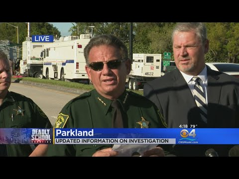 BSO, FBI Give Update On Latest In School Shooting Investigation