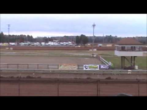 Late Model Heat 2 Langlade County Speedway 10/20/12